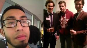 The K10 team selfie. From left: Mabs, Alex, David (apprentice), Jack.